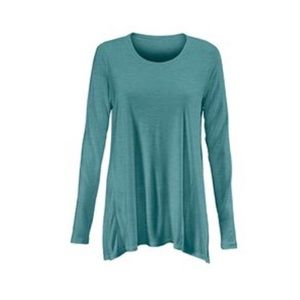 CAbi Green Long-Sleeved Swing Tunic - worn once!